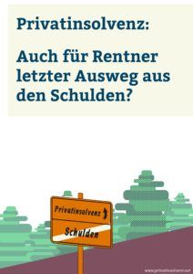 eBook Privatinsolvenz Rentner