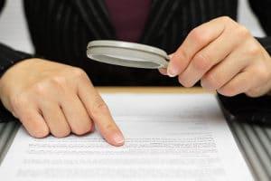 Insolvenzforderungen werden vom Insolvenzverwalter geprüft.