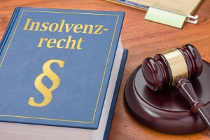 Das deutsche Insolvenzgesetz heißt Insolvenzordnung.