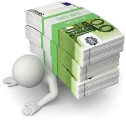 Endlich schuldenfrei: Am Ende der für die Privatinsolvenz zu erwartenden Dauer steht die Restschuldbefreiung.