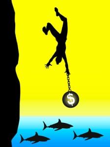 Privatinsolvenz: Wenn Sie neue Schulden in der Wohlverhaltensphase machen, landen Sie schnell erneut in der Schuldenfalle.