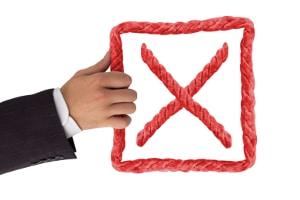 Ein negativer SCHUFA-Eintrag verringert die Chancen auf einen Kredit.