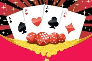 Glücksspiel: Was mit Prunk und viel Geld beginnt, endet oft in Spielschulden.