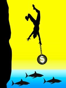 Die Teilungsversteigerung birgt Risiken. Scheitert sie, zahlt der Antragsteller die Kosten allein.