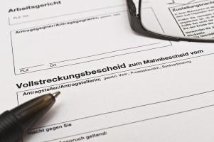 Die Zwangsvollstreckung im EU-Ausland funktioniert auch mit einem deutschen Schuldtitel.